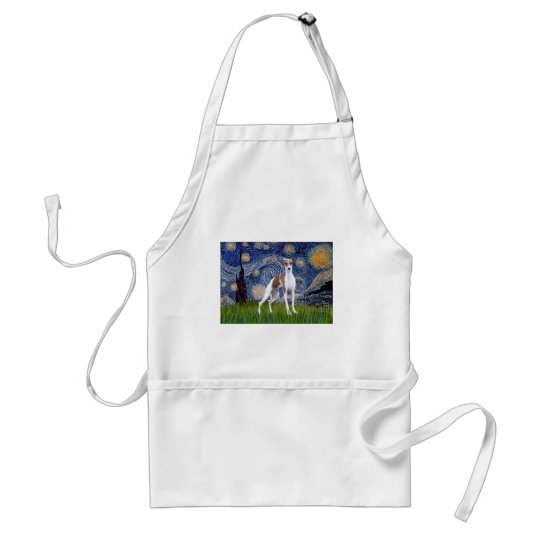 Starry Night - Italian Greyhound 7 Standard Apron