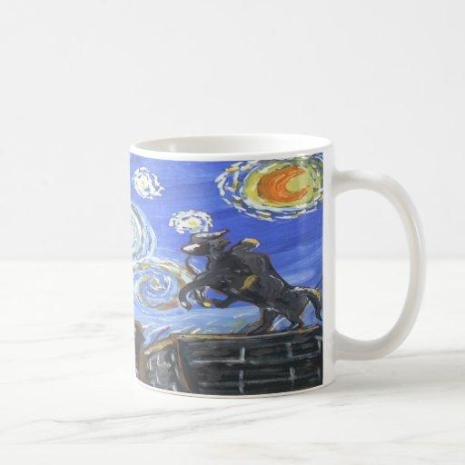 Starry Night Jackson Square Basic White Mug