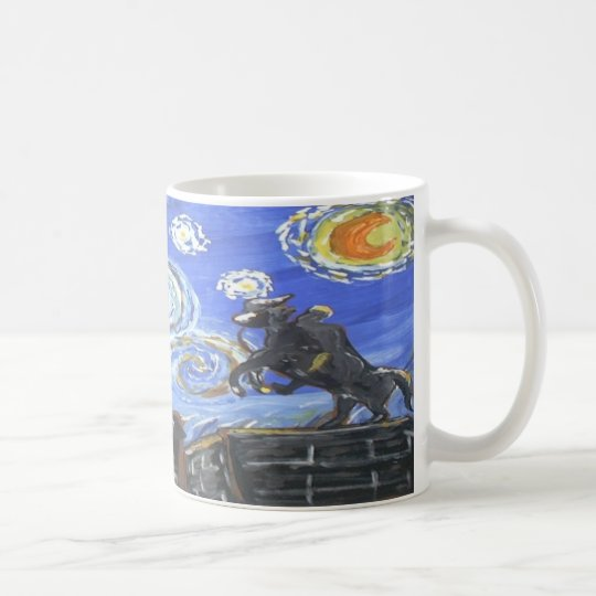 Starry Night Jackson Square Coffee Mug