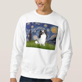Starry Night - Japanese Chin 2 Sweatshirt