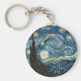 Starry Night Key Ring