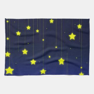 Starry Night kitchen towel