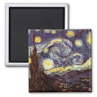 Starry Night Magnets
