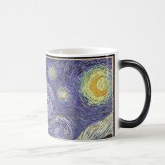 Starry Night Morphing Mug