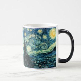 starry night morpho mug