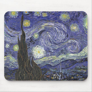 Starry Night Mouse Mat