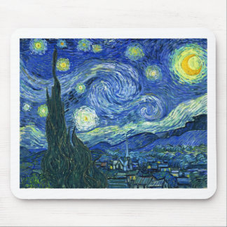 Starry Night Mouse Pads