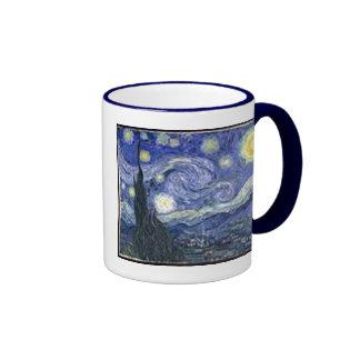 Starry Night Mugs
