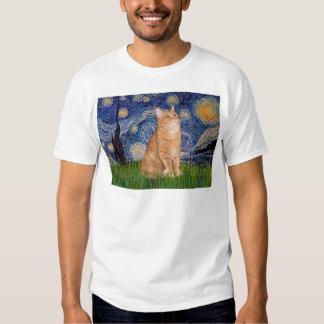Starry Night - Orange Tabby 46 Shirt