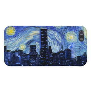 Starry Night Over New York City iPhone 5/5S Cover