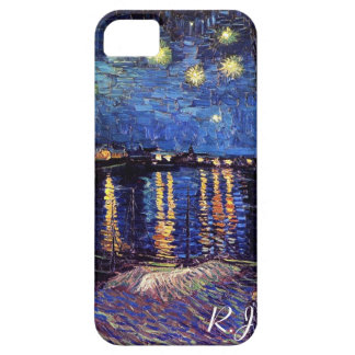 Starry night over the Rhone by Van Gogh iPhone 5 Cases