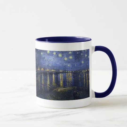 Starry Night Over the Rhone by Van Gogh Mug