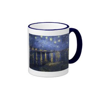 Starry Night Over the Rhone by Van Gogh Mugs