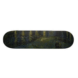 Starry Night Over the Rhone by Van Gogh Skateboard