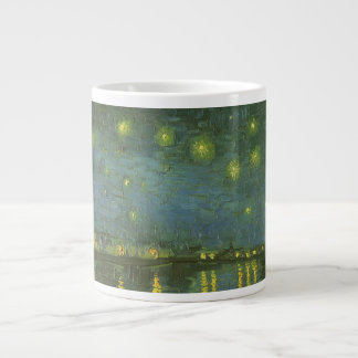 Starry Night Over the Rhone by Vincent van Gogh 20 Oz Large Ceramic Coffee Mug