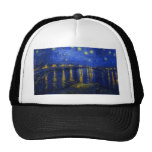 Starry Night Over The Rhone Hat