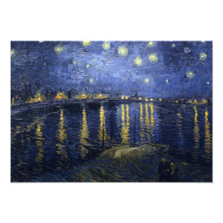 Starry Night Over the Rhone Invitation