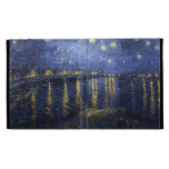 Starry Night Over the Rhone iPad Case