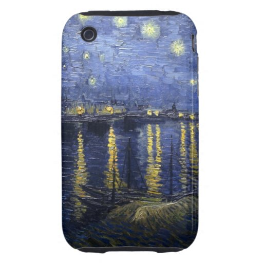 Starry Night Over the Rhone iPhone 3G/3GS Case Tough iPhone 3 Cover