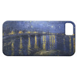 Starry Night Over the Rhone iPhone 5 Cover