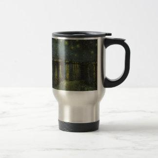 Starry Night Over the Rhone Stainless Steel Travel Mug