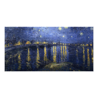 Starry Night Over the Rhone Photo Greeting Card