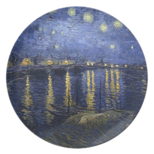 Starry Night Over the Rhone Plate