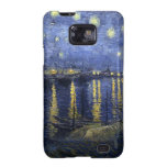 Starry Night Over the Rhone Samsung Galaxy S Case Samsung Galaxy SII Cases