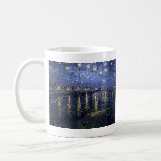 Starry Night Over the Rhone - Van Gogh 1888 Coffee Mugs