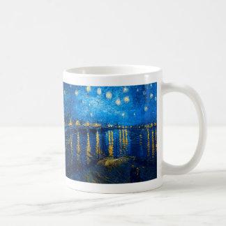 Starry Night Over the Rhone, Van Gogh Coffee Mug