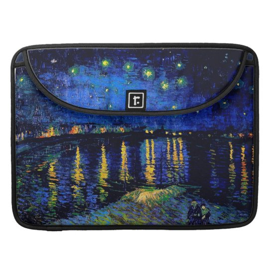 Starry Night Over the Rhone Van Gogh Fine Art Sleeve For MacBook Pro