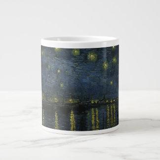 Starry Night Over the Rhone - Van Gogh Jumbo Mug