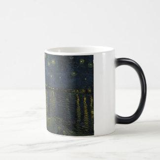 Starry Night Over the Rhone - Van Gogh Morphing Mug