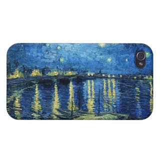 Starry Night over the Rhone Vincent van Gogh Cases For iPhone 4