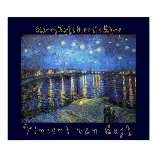 Starry Night Over the Rhone: Vincent van Gogh