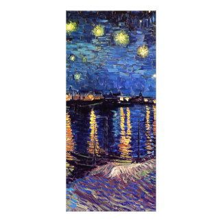 Starry Night over the Rhone Vincent van Gogh Full Color Rack Card