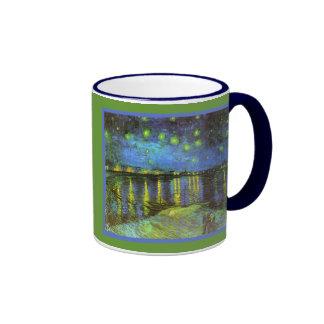 Starry Night Over the River Rhone Van Gogh Mug