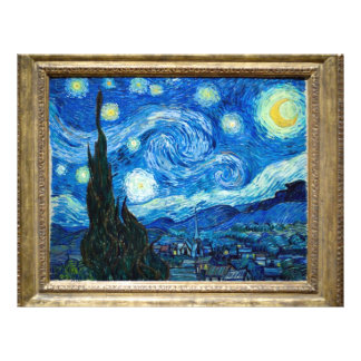 Starry Night Painting By Painter Vincent Van Gogh Flyer