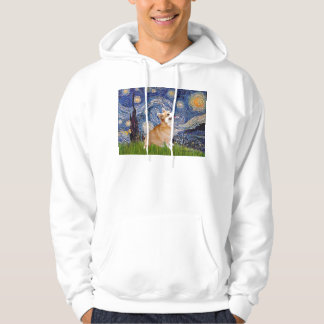 Starry Night - Pembroke Welsh Corgi 7b Hoodie