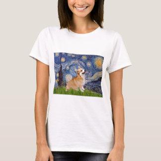 Starry Night - Pembroke Welsh Corgi 7b T-Shirt