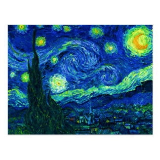 Starry Night Postcard