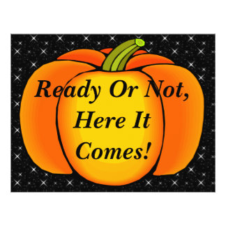 Starry Night Pumpkin 21.5 Cm X 28 Cm Flyer