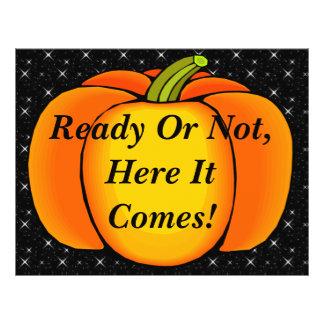 Starry Night Pumpkin Flyer