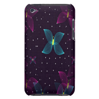 Starry Night Purple Blue Butterflies Speck Case