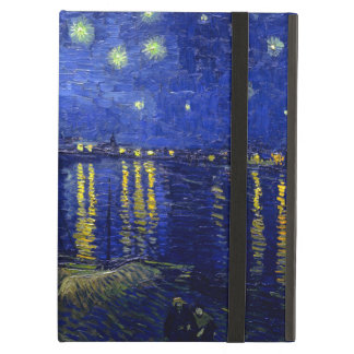 Starry Night Rhone by Van Gogh iPad Air Cover