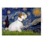 Starry Night - Sealyham Terrier (L) Card