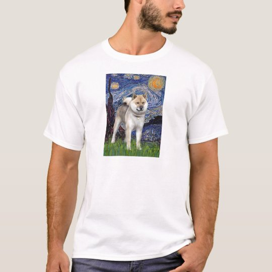 Starry Night - Shiba Inu T-Shirt
