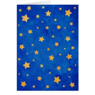 Starry Night Sky Card