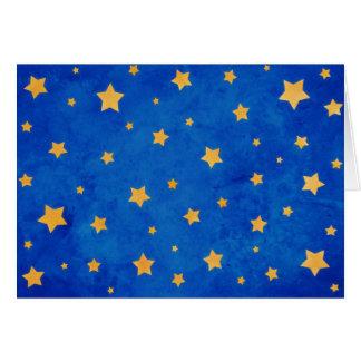 Starry Night Sky Greeting Card