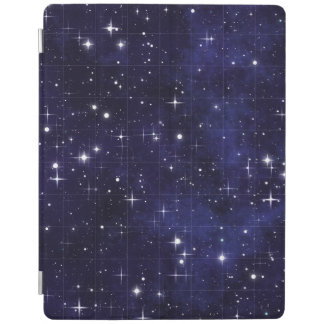 Starry Night Sky Grid iPad Cover